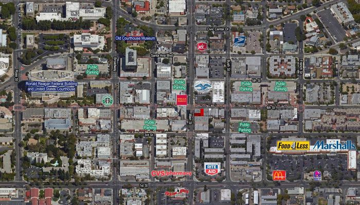 Retail Space for Rent at 104 E 4th St Santa Ana, CA 92701 - #3