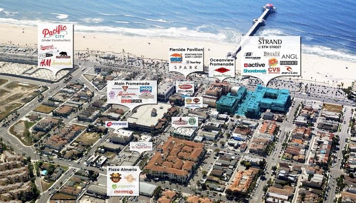 Retail Space for Rent at 150 5th St Huntington Beach, CA 92648 - #2