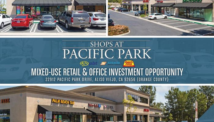 Retail Space for Sale at 22912 Pacific Park Dr Aliso Viejo, CA 92656 - #1