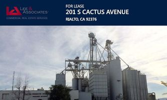 Warehouse Space for Rent located at 201 S. Cactus Ave. Rialto, CA 92376