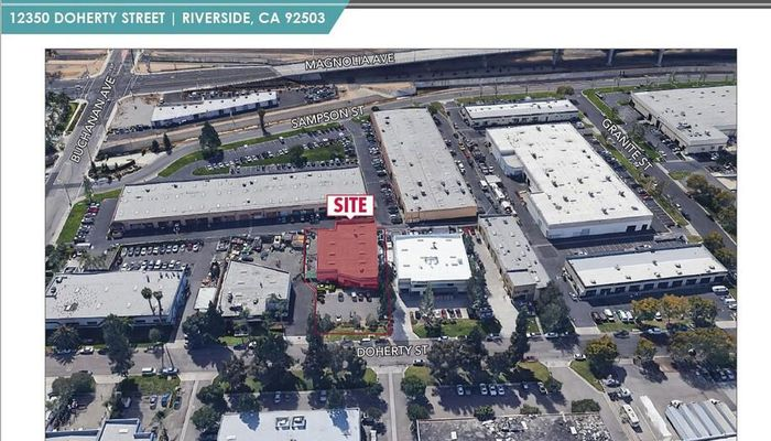 Warehouse Space for Rent at 12350 Doherty St Riverside, CA 92503 - #1