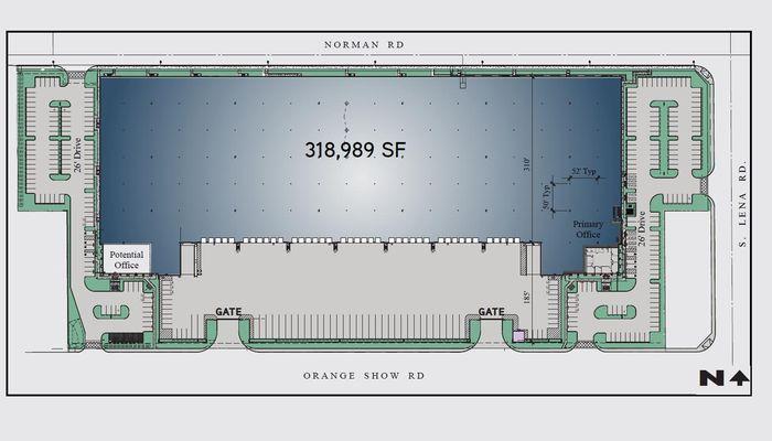 Warehouse Space for Rent at 520 E Orange Show Rd San Bernardino, CA 92408 - #5