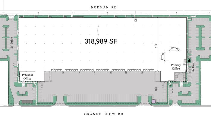 Warehouse Space for Rent at 520 E Orange Show Rd San Bernardino, CA 92408 - #3