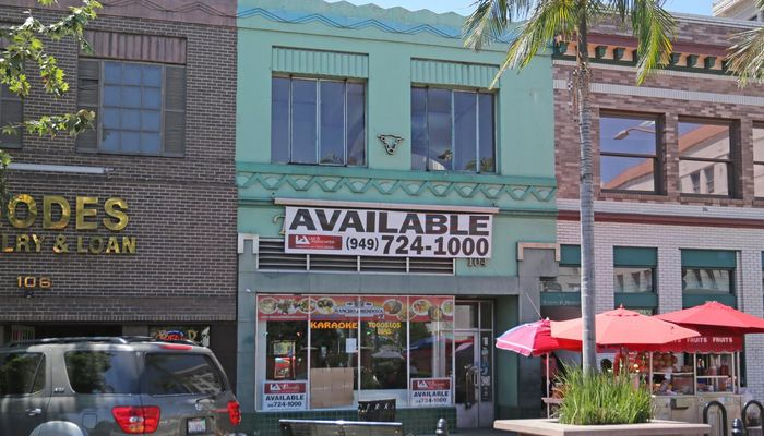 Retail Space for Rent at 104 E 4th St Santa Ana, CA 92701 - #1